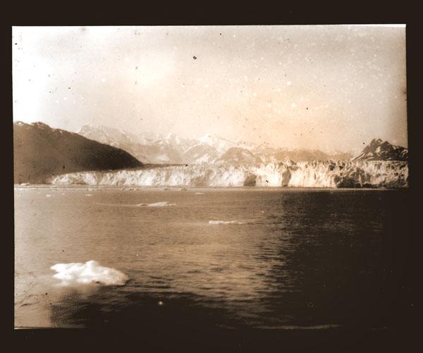 Image of Muir Glacier.  Harriman Alaska Expedition, 1899.