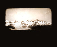 Image of Crillan Glacier.  Fairweather Mountains.  Harriman Alaska Expedition, 1899.  Curtis photographer.
