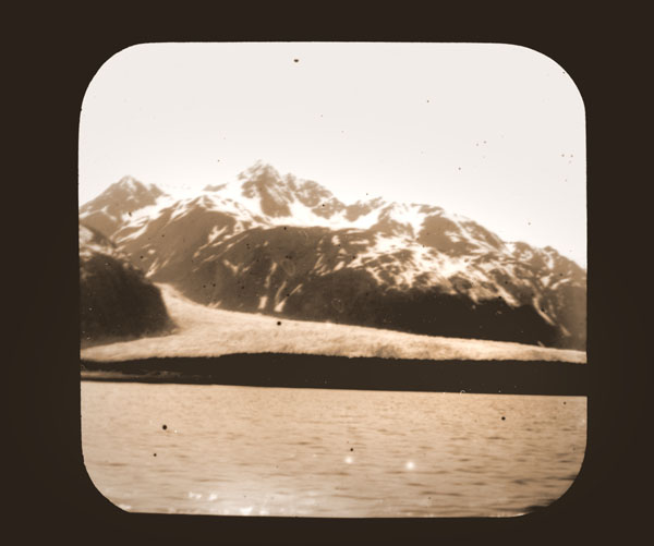 Image of Davidson Glacier.  Harriman Alaska Expedition, 1899.