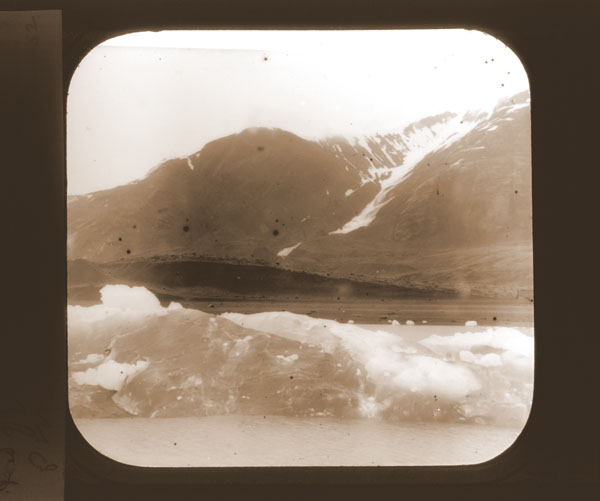 Image of Head of Yakutat Bay.  Harriman Alaska Expedition, 1899.