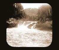 Image of Falls.  Lowe Inlet.  Harriman Alaska Expedition, 1899.  Curtis photographer.