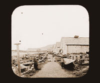 Image of 23  Street Scene.  Sitka, Alaska.  Harriman Alaska Expedition, 1899.