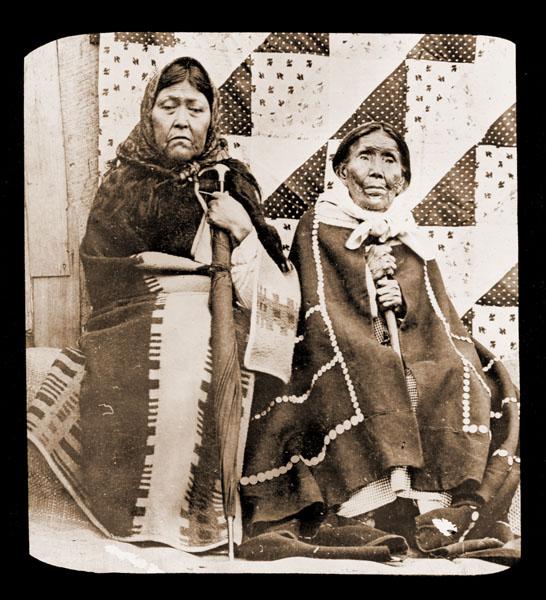 Image of Old Indian Women.  Juneau, Alaska.  Harriman Alaska Expedition, 1899.
