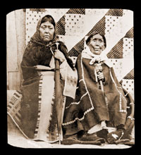 Image of Old Indian Women.  Juneau, Alaska.  Harriman Alaska Expedition, 1899.
