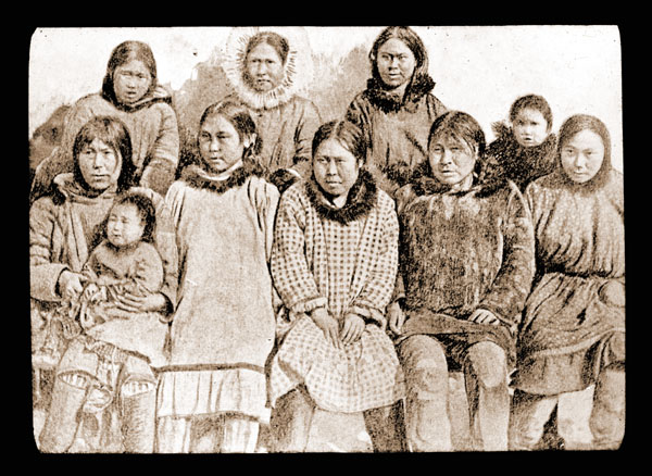 Image of Aleuts.  Harriman Alaska Expedition, 1899.