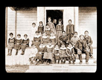 Image of Sitka Mission children.  Harriman Alaska Expedition, 1899.