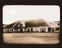 Image of Sitka.  Old Russian Building. Harriman Alaska Expedition, 1899.