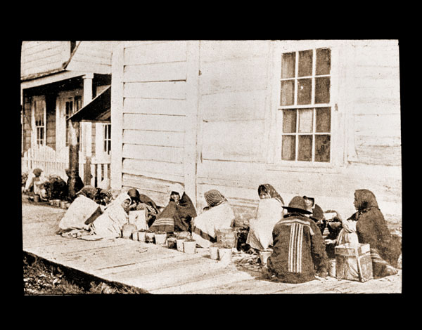 Image of Berry sellers.  Sitka.   Harriman Alaska Expedition, 1899.