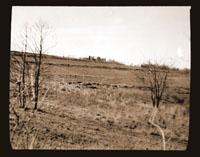 Image of Brush Creek Watershed  (Looking toward main gate).