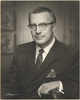 Image of Dr. David Gates, Director, Missouri Botanical Garden, Sept., 1965- Sept., 1971.