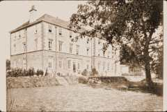 Image of Slide of photograph of Mill Hill School ca. 1890-1907