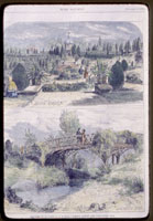 Image of Shaw's Garden view, 1871, from