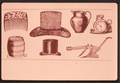 Image of Articles sold by Shaw in hardware store, 1819-1839
